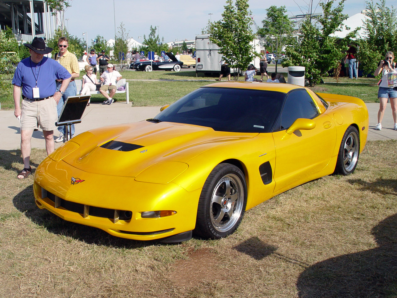 1997 Chevrolet Corvette Tiger Shark Concept